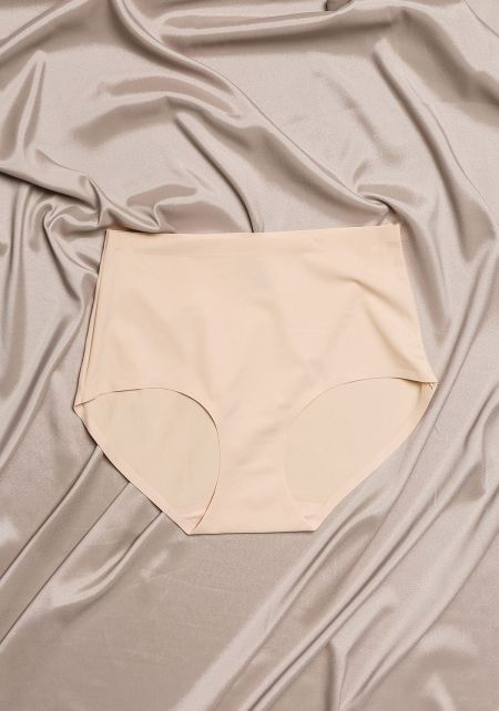 Nude High Rise Panties