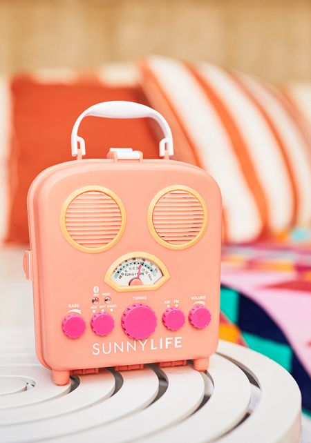 Sunnylife Apricot Beach Sounds Speaker