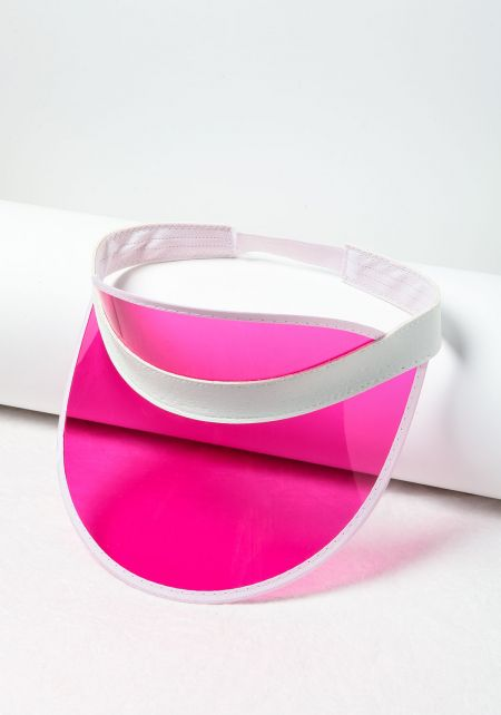 Pink Clear Visor