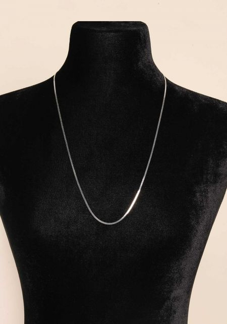 Silver Two In One Belly Chain & Necklace