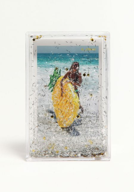 Sunnylife Yellow Glitter Picture Frame
