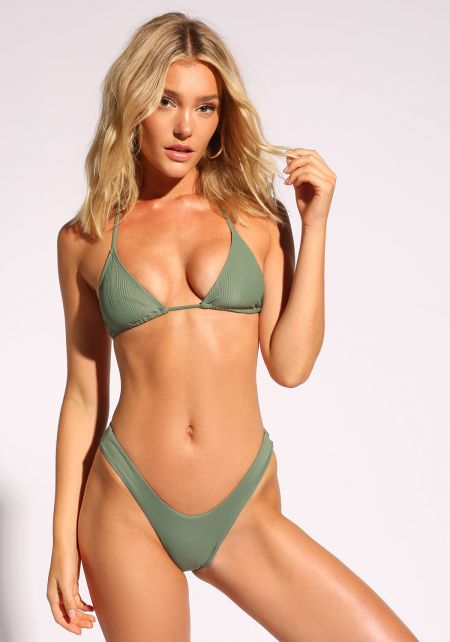 Avocado Low Rise Swimsuit Bikini Bottoms