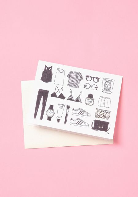 Minimalist Chic Blank Card