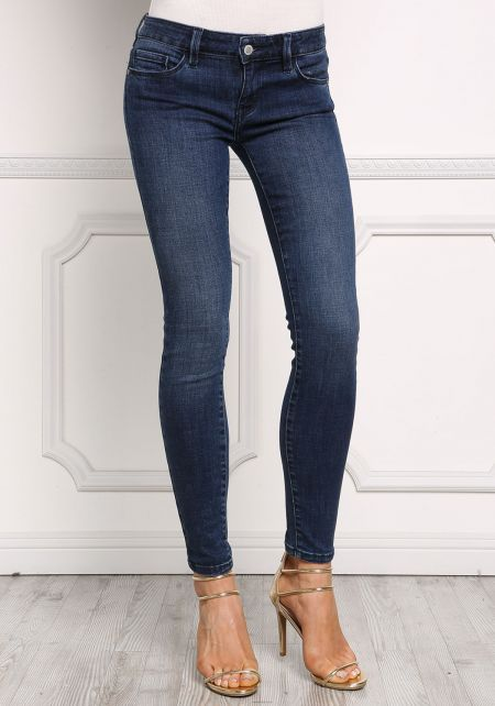 Dark Denim Low Rise Skinny Jeans