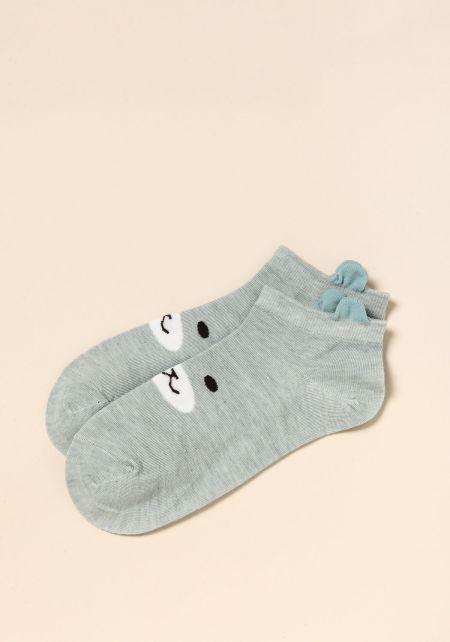 Blue Bear Socks