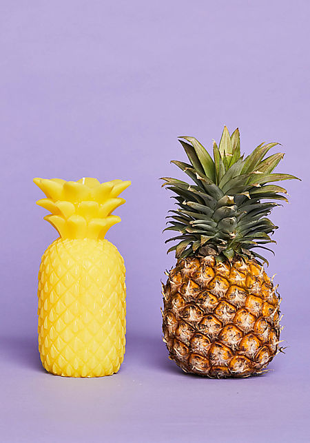 Sunnylife Yellow Pineapple Large Candle
