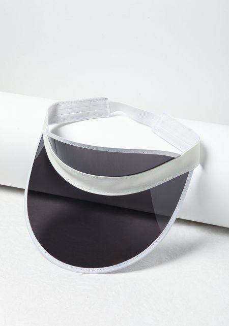 Grey Clear Visor