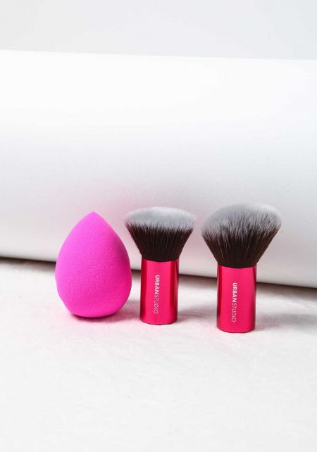 Hot Pink Contour Makeup Kit