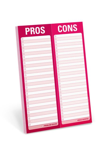 Pros / Cons Perforated Pad