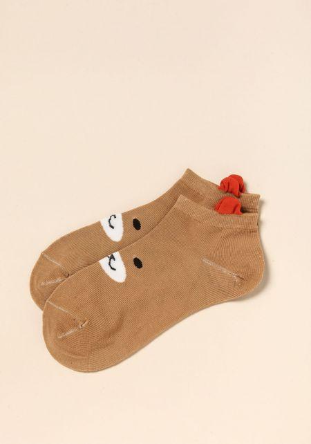 Mocha Bear Socks