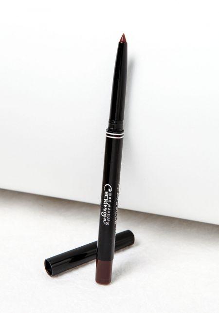 Espresso Retractable Waterproof Lip and Eyeliner