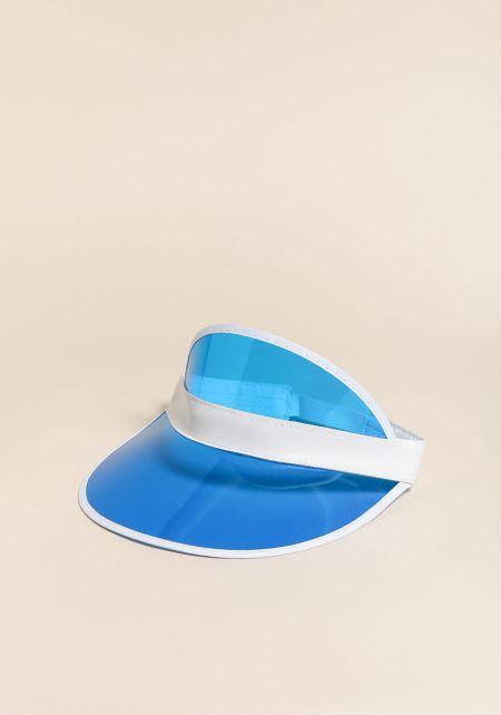 Blue Clear Visor