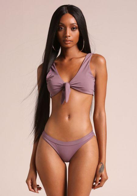 Purple Haze Low Rise Swimsuit Bikini Bottoms