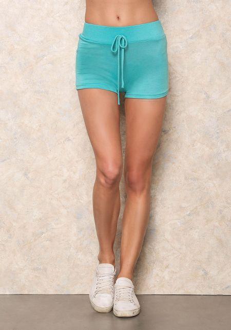Mint Lounge Basic Shorts