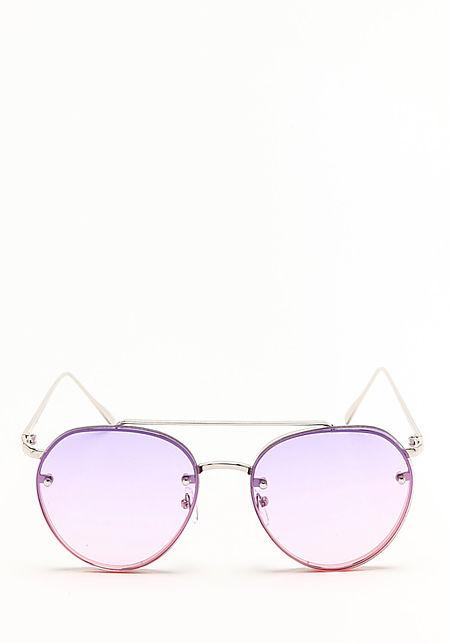 Purple Gradient Aviator Sunglasses