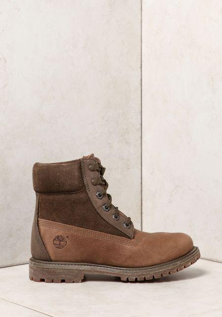 Timberland Brown Premium Waterproof Combat Boots