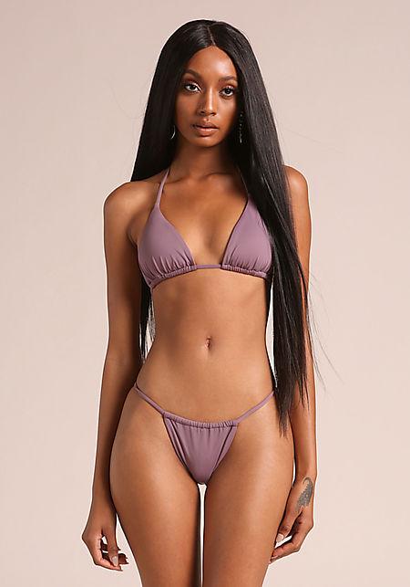 Purple Haze Halter Swimsuit Bikini Top