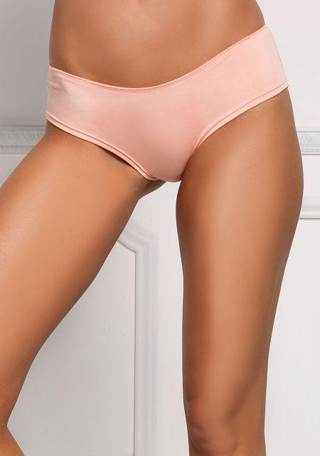 Coral Lace Back Panties