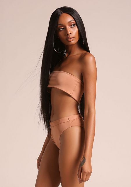 Rose Dawn High Waist Swimsuit Bikini Bottoms
