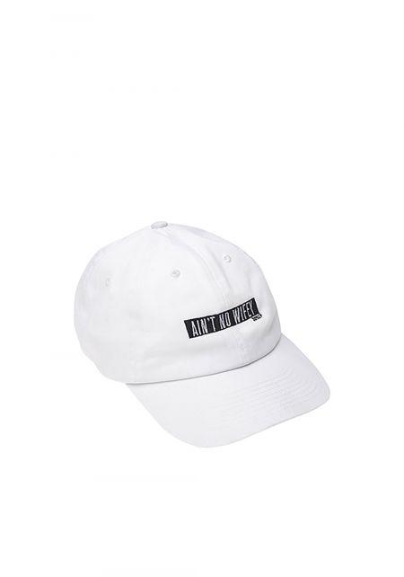 Dimepiece Ain't No Wifey Cap in White
