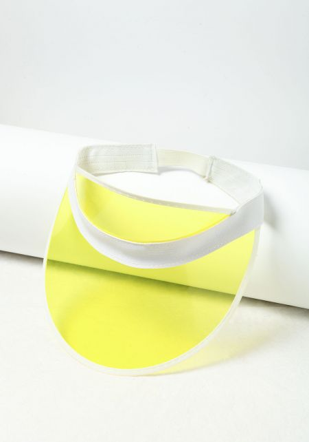 Yellow Clear Visor