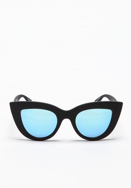 Quay Kitti Sunglasses in Matte Black