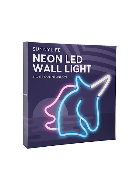 Sunnylife Unicorn Neon Wall Light