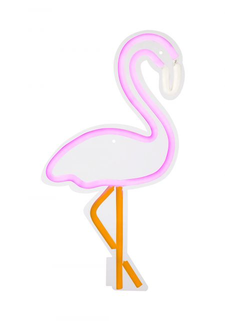 Sunnylife Flamingo Neon Wall Light