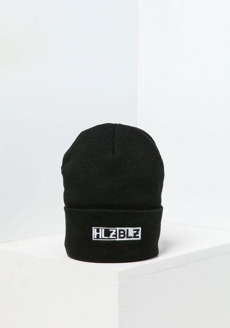 HLZBLZ Black Logo Beanie