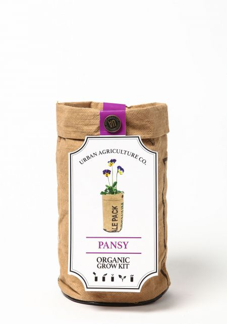 Urban Agriculture Co. Pansy Organic Grow Kit