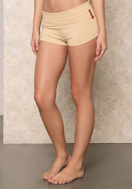 Nude Yoga Stretch Shorts