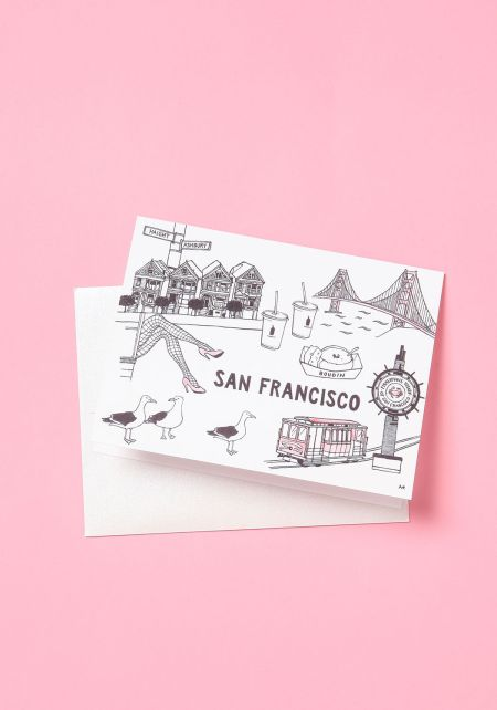 San Francisco Blank Card