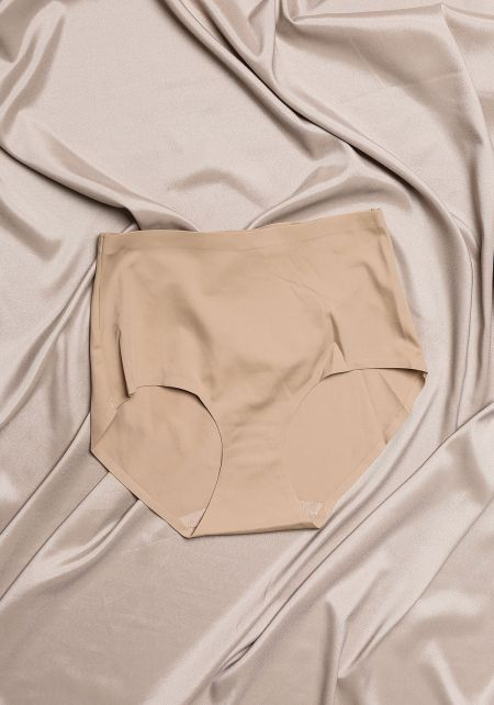 Taupe High Rise Panties