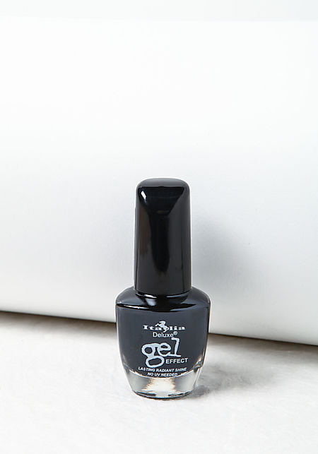 Black Deluxe Gel Effect Nail Polish