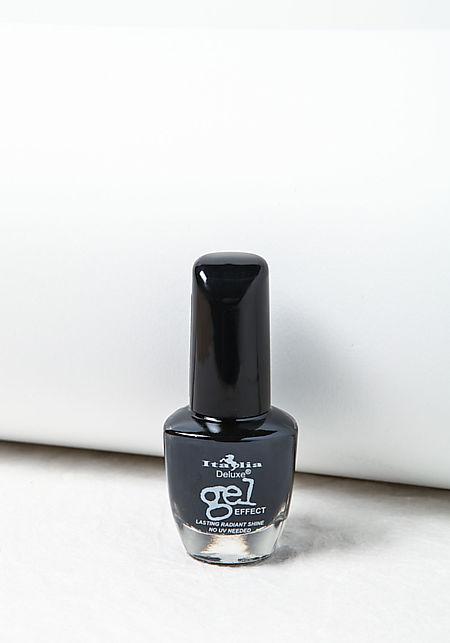 Black Deluxe Gel Effect Nail Polish