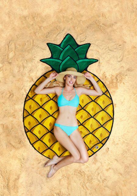 Giant Pineapple Beach Blanket