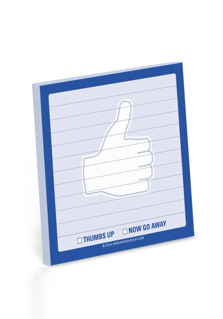 Thumbs Up Sticky Notes