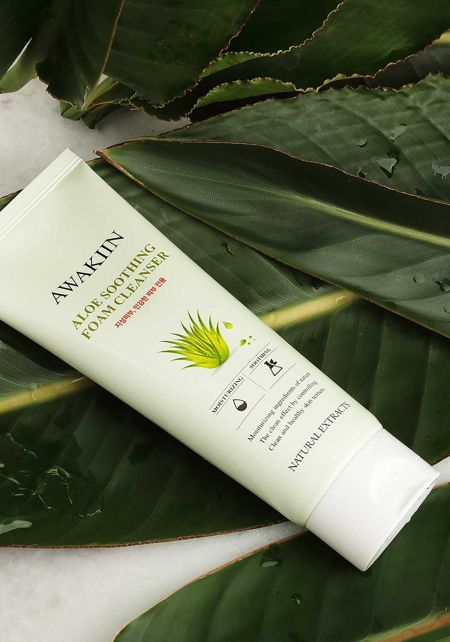 Aloe Soothing Foam Cleanser