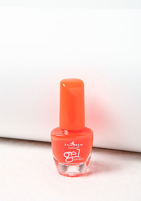 Neon Orange Deluxe Gel Effect Nail Polish
