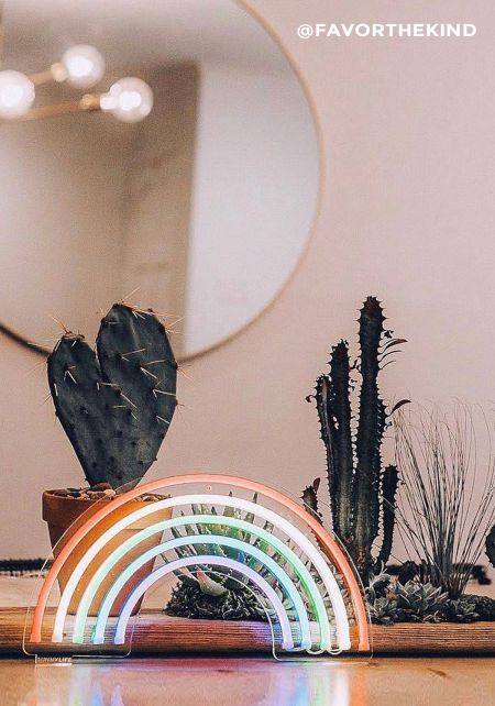 Sunnylife Rainbow Neon Wall Light