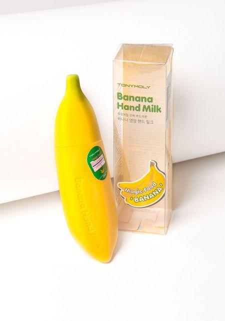 TonyMoly Magic Food Banana Hand Milk Cream