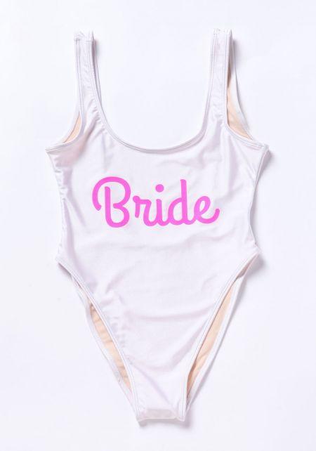Private Party Bride Swimsuit Monokini