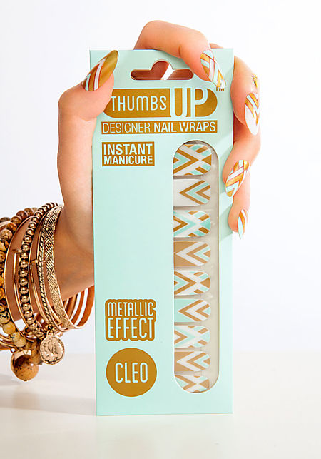 Cleo Nail Wrap by Thumbs Up UK