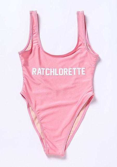 Private Party Ratchlorette Swimsuit Monokini