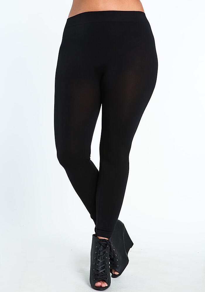 Junior Clothing | Plus Size Jersey Leggings | Loveculture.com