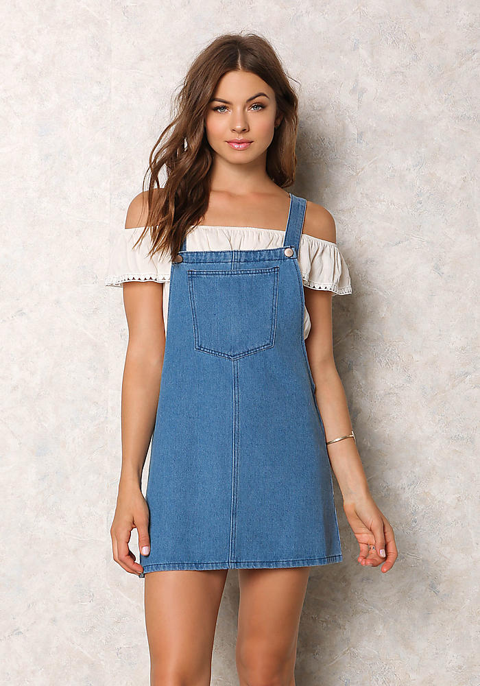 Denim Color Dress