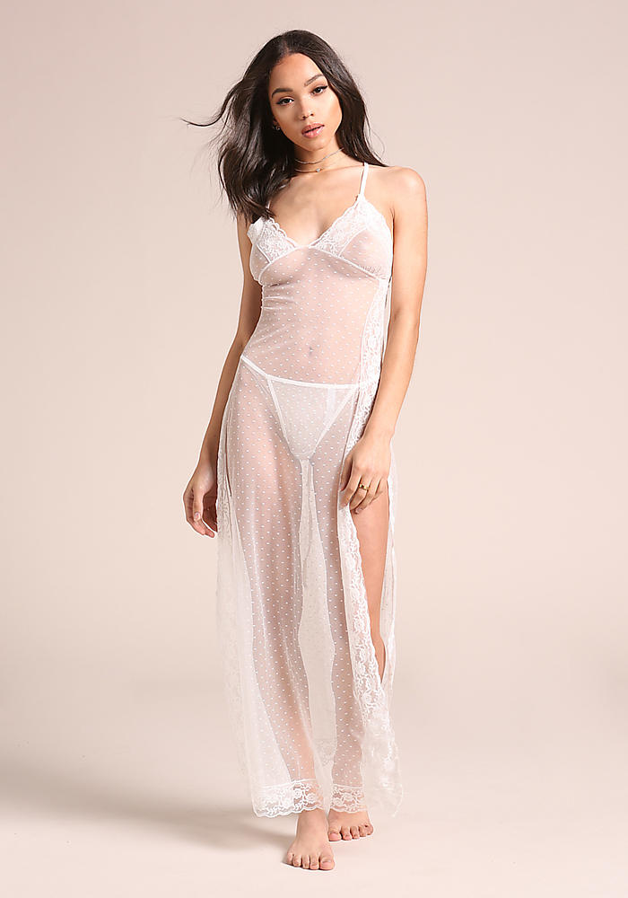 See Through Long Nightgowns